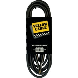 YELLOW CABLE GP63D CABLE JACK GUITARE