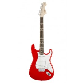 SQUIER AFFINITY STRATOCASTER ROUGE