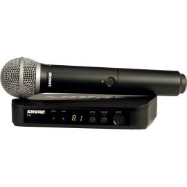 SHURE BLX24E PG58 M17 SYSTEME UHF VOIX