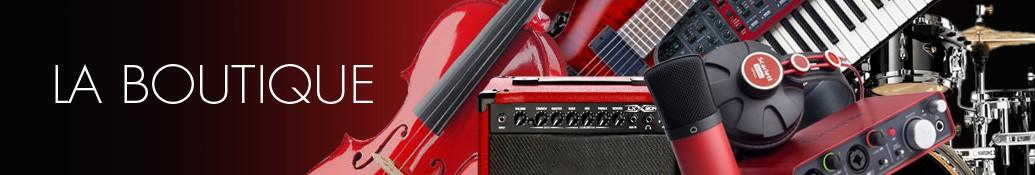 Vente en ligne et Catalogue d'instruments de musique