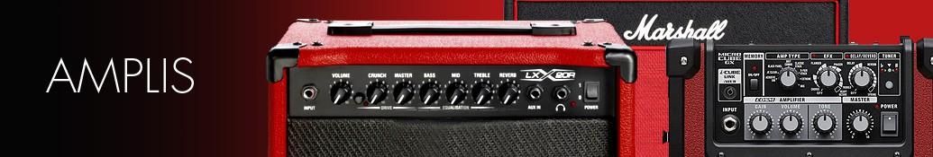 Amplis guitares basses